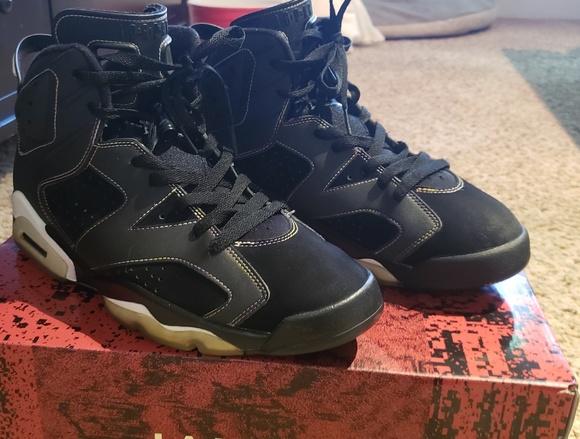 the latest cc3b5 fc0d2 Jordan Other - Nike Air Jordan Retro VI 6 s - Lakers - Sz.10.5